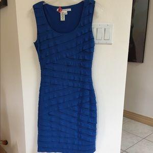 Max Studio Marine Blue Dress